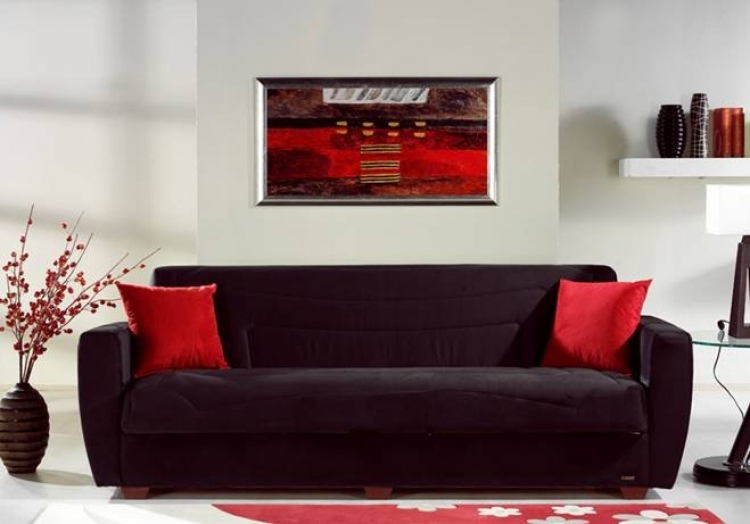 Miami Sofa - Rainbow Black - Istikbal - Sunset