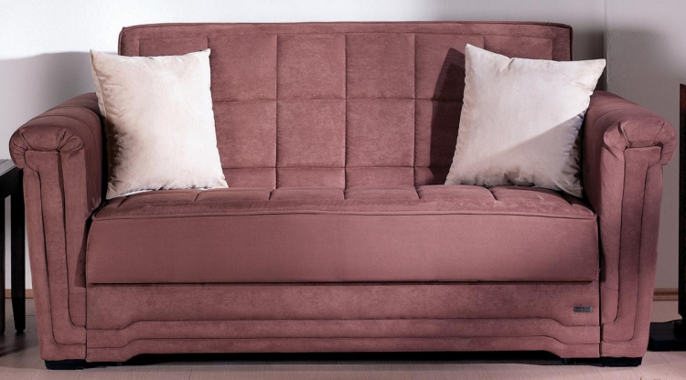 Victoria Sofa Collection - Rainbow Truffle - Istikbal - Sunset