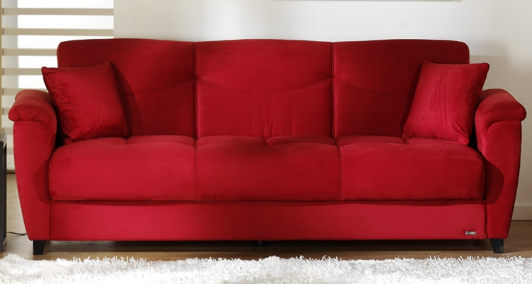 Aspen Sofa - Rainbow Red - Istikbal - Sunset