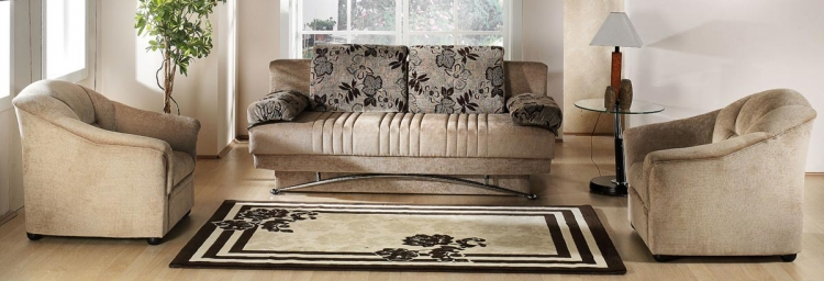 Fantasy Sofa Collection - Benja Light Brown - Istikbal - Sunset