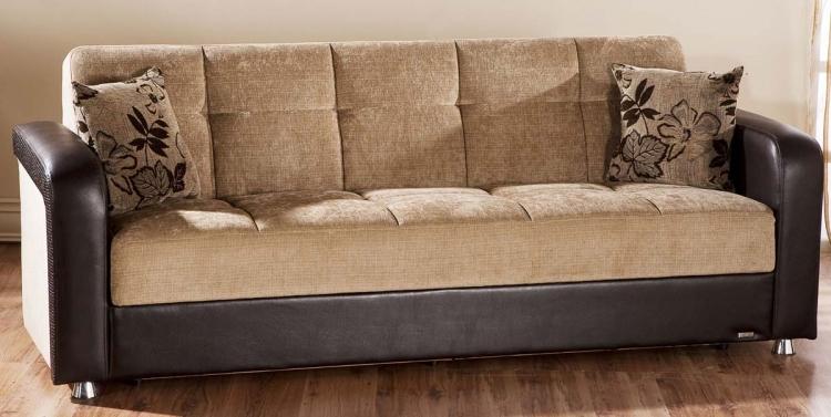 Vision Sofa - Benja Light Brown