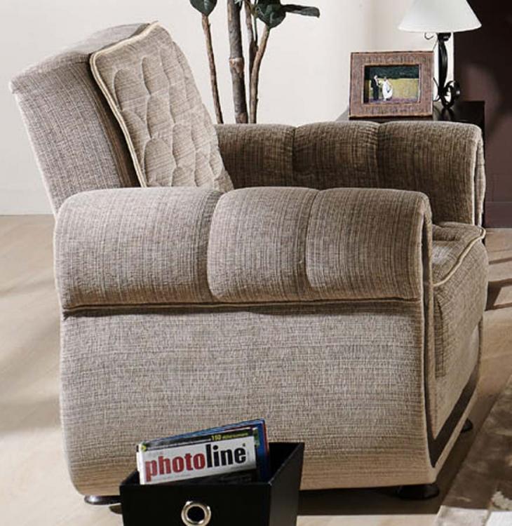 Argos Arm Chair - Zilkade Light Brown