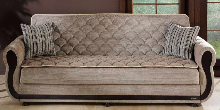 Istikbal Argos Sleeper Sofa - Zilkade Light Brown