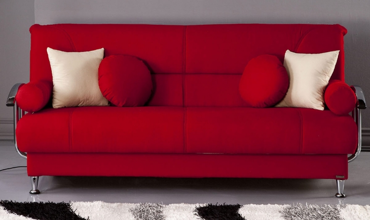 Best Sofa - Tetris Red - Istikbal - Sunset