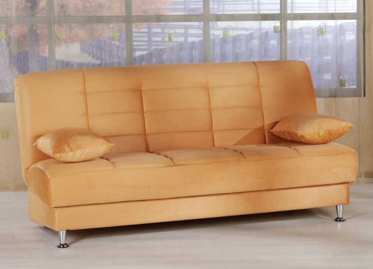 Vegas Sofa - Rainbow Light Orange