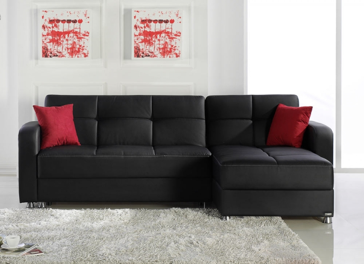 Vision Sectional - Escudo Black - Istikbal - Sunset