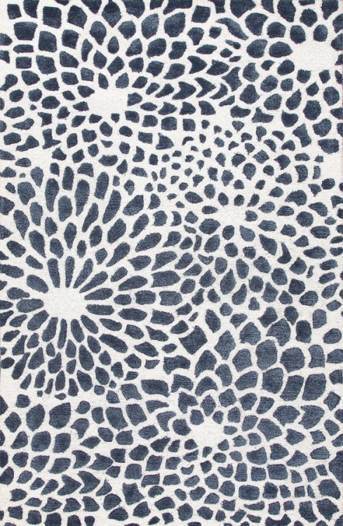 Blue Mumford BL122 White Area Rug