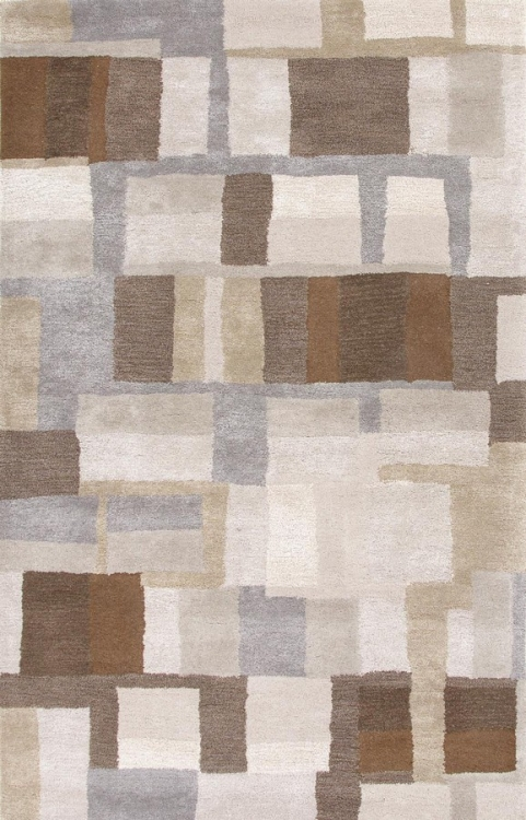 Blue Adell BL126 Classic Gray Area Rug