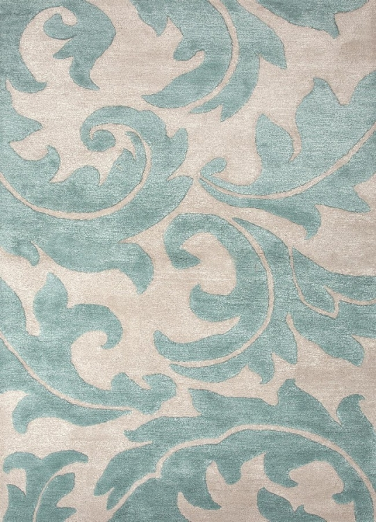 Blue Aloha BL82 Antique White Area Rug
