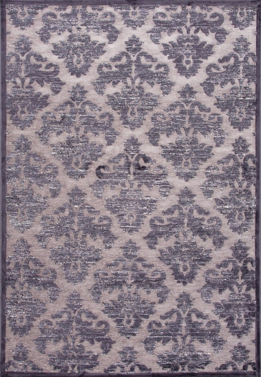 Fables Majestic FB38 Chenille Gray Area Rug