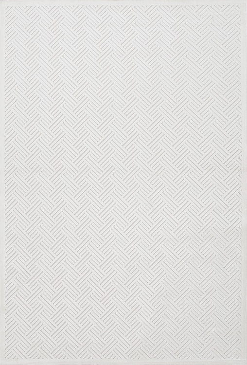 Fables Thatch FB44 White Area Rug