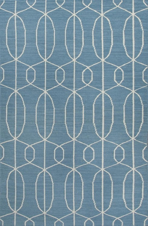 Maroc Naima MR100 Ocean Blue Area Rug