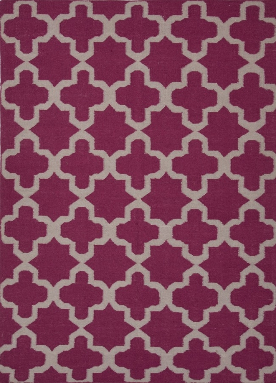 Maroc Aster MR58 Medium Magenta Area Rug
