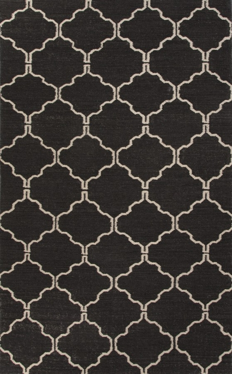 Maroc Delphine MR77 Black Olive Area Rug