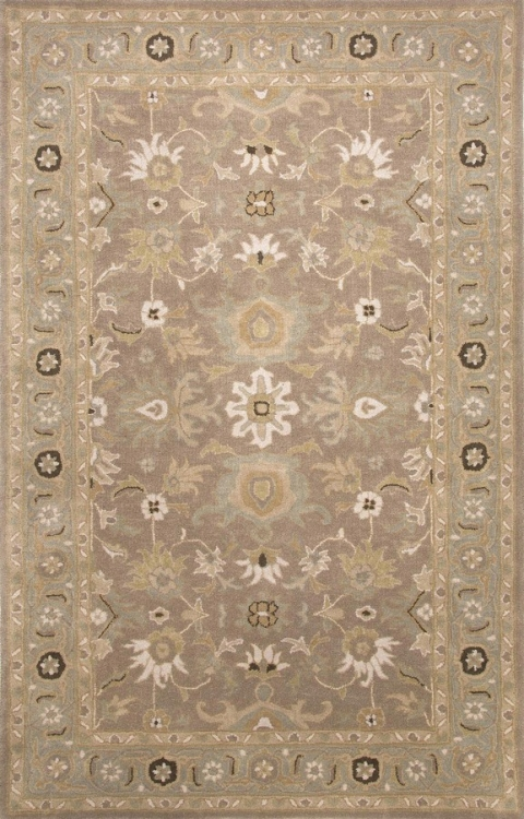 Poeme Abralin PM103 Dark Taupe Area Rug