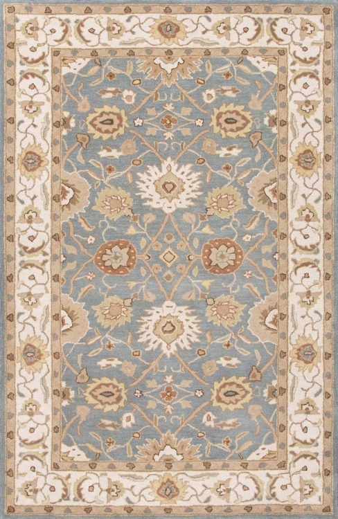 Poeme Zuzanna PM109 Seaside Blue Area Rug