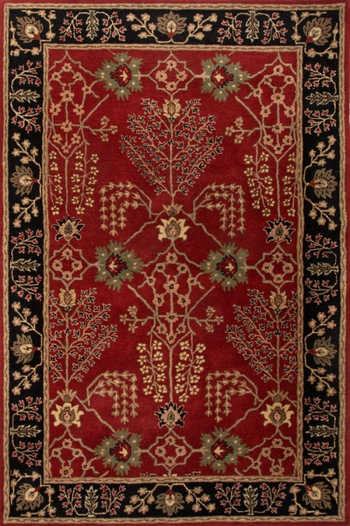 Poeme Chambery PM111 Red Area Rug