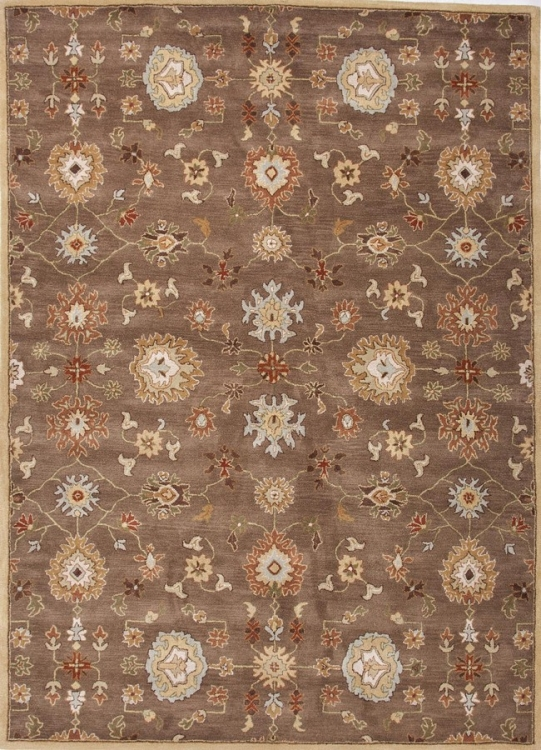 Poeme Nantes PM14 Gray Brown Area Rug