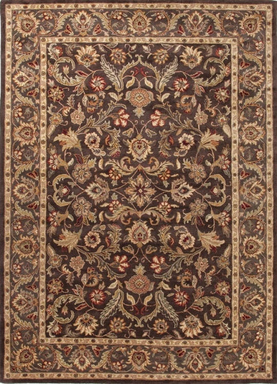 Poeme Gascony PM39 Dark Brown Area Rug