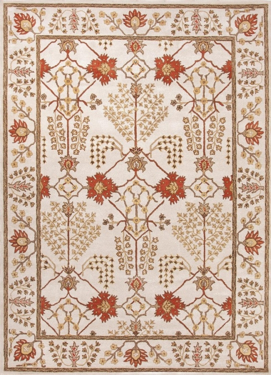 Poeme Chambery PM72 Antique White Area Rug