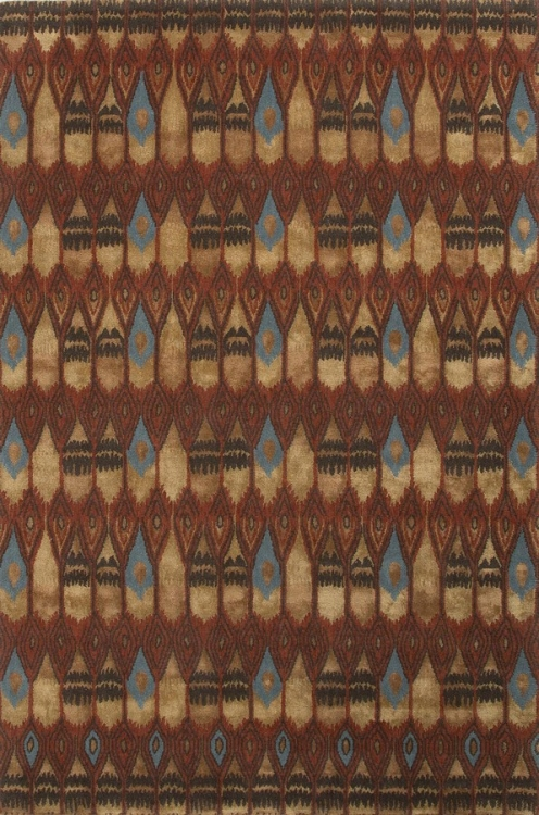 Wilton Valhalla WIN02 Rust Area Rug