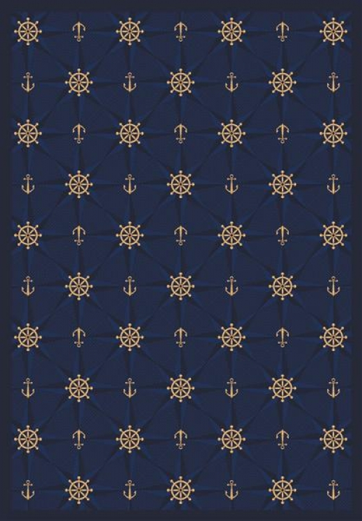 Mariner's Tale - Navy- Joy Carpet