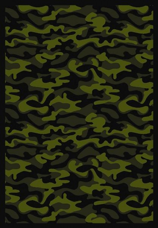 Funky Camo - Green- Joy Carpet