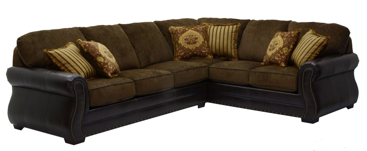 Austin Sectional Sofa - Walnut - Jackson Furniture
