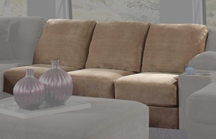 Jackson Malibu Armless Sofa - Taupe