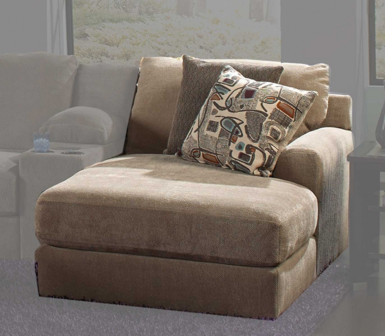 Jackson Malibu Right Side Facing Chaise - Taupe
