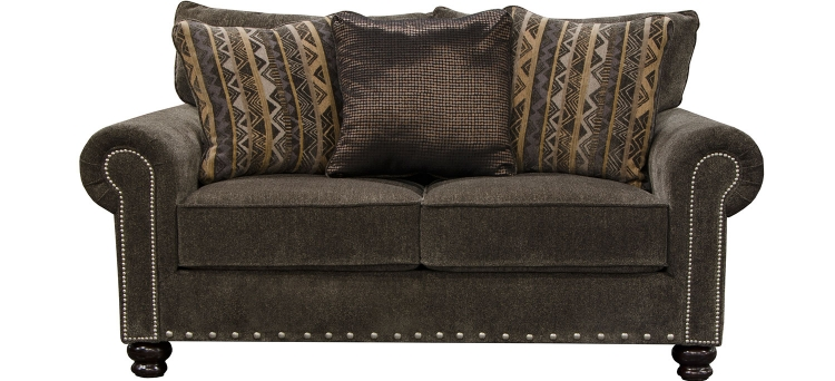 Avery Loveseat - Tigers Eye