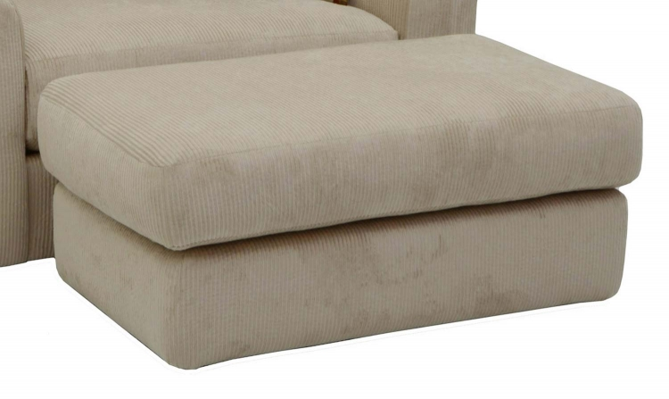 Sutton Ottoman - Doe - Jackson Furniture