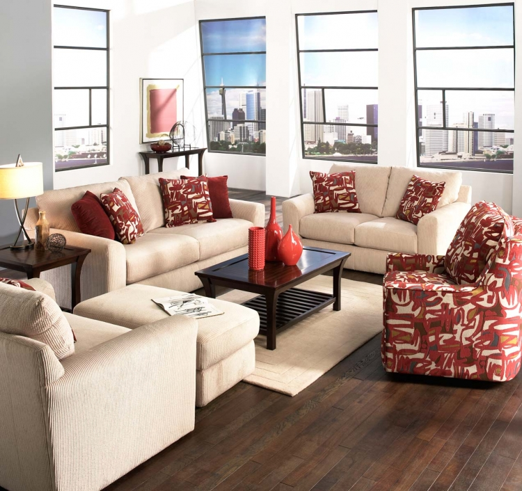 Sutton Sofa Set - Doe