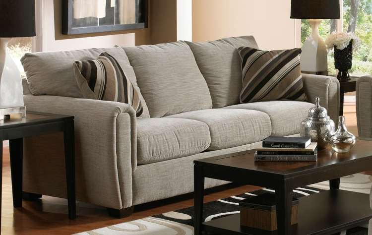 Abby Sleeper Sofa - Stone - Jackson