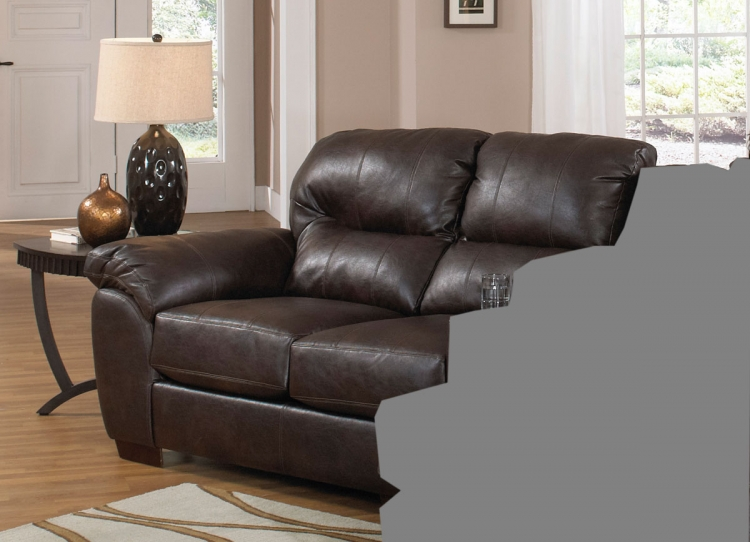 Jackson Lawson Left Side Facing (LSF) Loveseat - Godiva