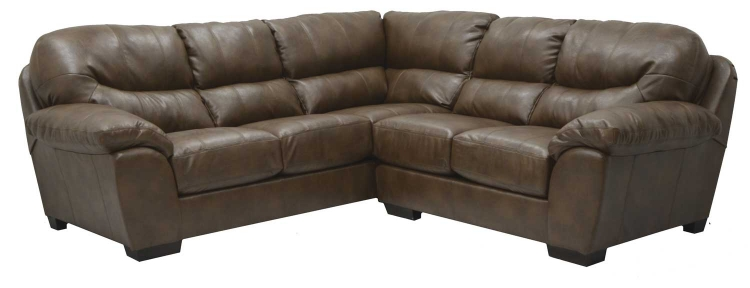 Lawson Sectional Sofa Set A - Chestnut