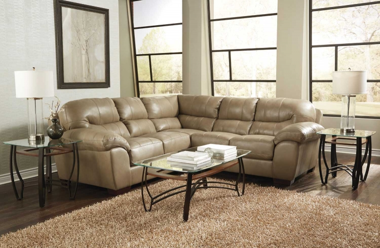 Lawson Sectional Sofa Set A - Putty