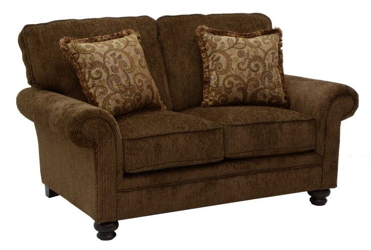 Ellington Loveseat - Amber