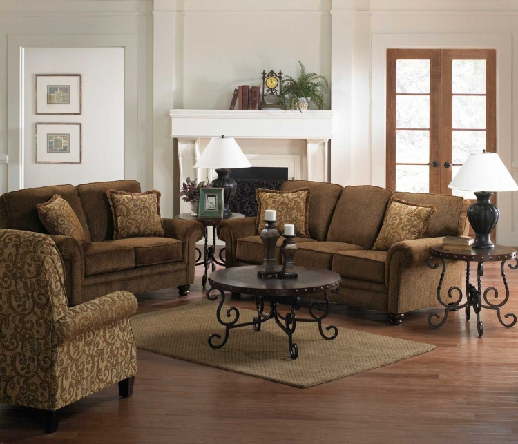 Ellington Sofa Set - Amber