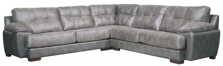Drummond Sectional Sofa Set - Steel