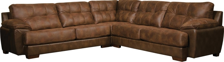 Drummond Sectional Sofa Set - Sunset