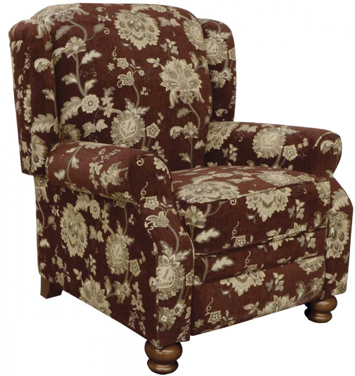 Belmont Reclining Chair - Merlot