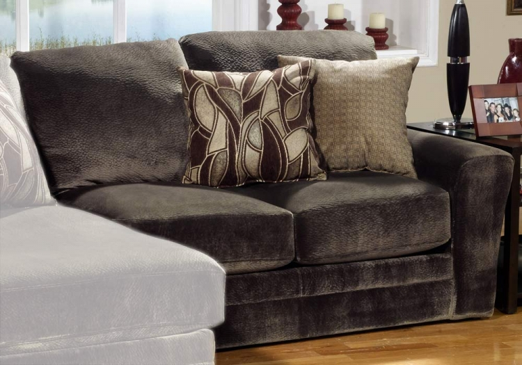 Jackson Everest RSF Loveseat - Chocolate
