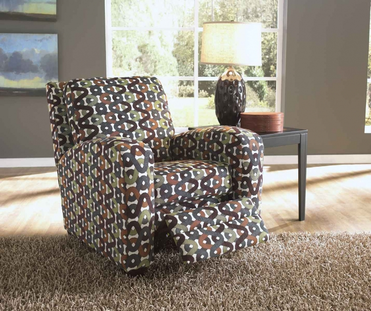 Halle Reclining Chair - Gemstone