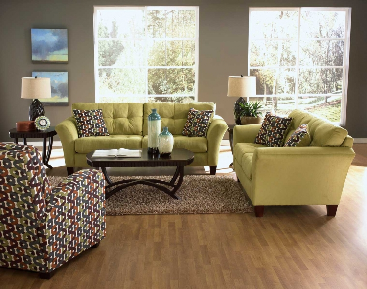Halle Sofa Set - Basil - Jackson Furniture