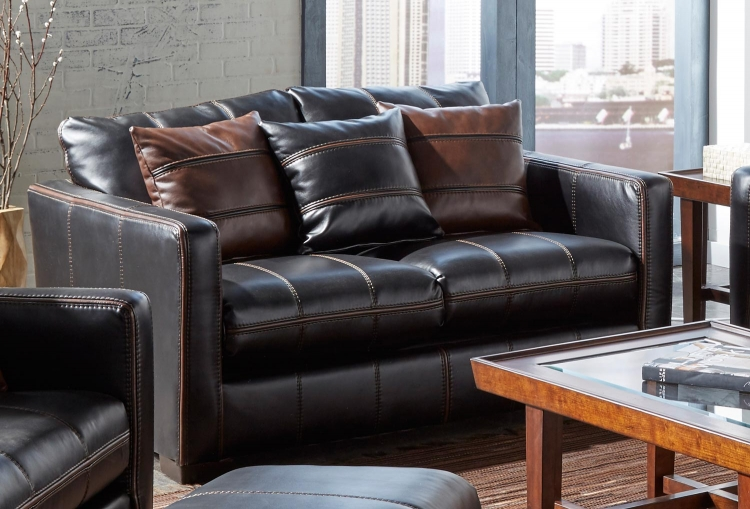 Tucker Loveseat - Black