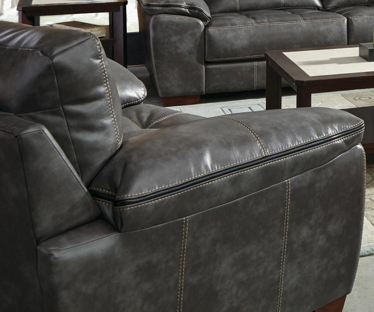 Hudson Chair and Half - Steel