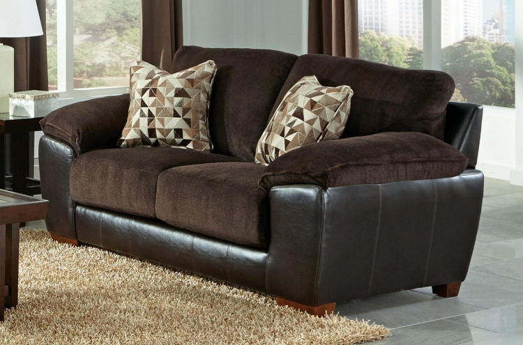 Pinson Loveseat - Chocolate