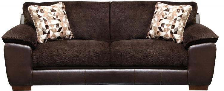 Pinson Sofa - Chocolate