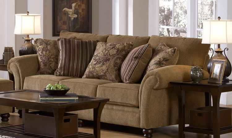 Suffolk Sofa - Burlap - Jackson